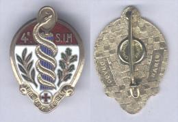 Insigne De La 4e Section D'Infirmiers Militaires - Services Médicaux