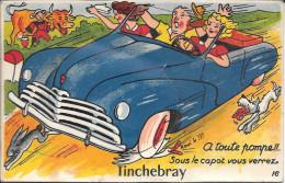 61-TINCHEBRAY  - CARTE SYSTEME - Otros Municipios