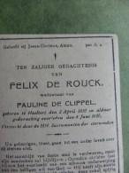 Haaltert - De Rouck Felix (+1930) - De Clippel - Religion & Esotérisme
