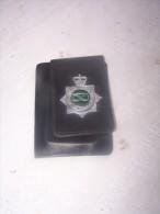 Carnet Et Insigne  Police Anglaise - Police & Gendarmerie