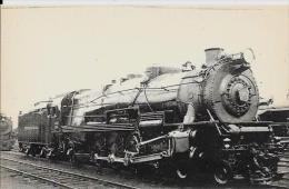 CPA Locomotive Chemin De Fer Train Non Circulé Type Fleury éditeur HMP Paris - Trains
