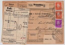 DR, 1932, Selt. 4er Block, Paketkarte , #5288 - Deutschland