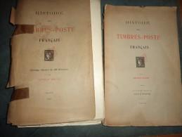 Arthur Maury 1907 - France Spécialisé - 2 Volumes - RARE - Philately And Postal History