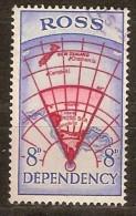 Ross Dependency 1957 Yvertn° 3 (°) Used Oblitéré Cote 20 FF - Dépendance De Ross (Nouvelle Zélande)