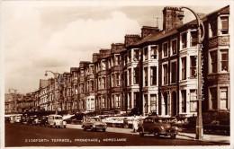 "05014 ""U. K.- ENGLAND - LANCASHIRE  - MORECAMBE - EIDSFORTH TERRACE - PROMENADE"" ANIMATA. CART. POST. ORIG. SPEDITA 1961 - Inghilterra"