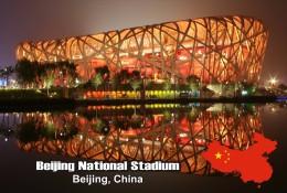 Postcard, Amazing Buildings Of The World, Beijing National Stadium, Beijing, China - Postales