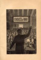 Poesia IL CONGRESSO DE' BIRRI Di GIUSEPPE GIUSTI Con 5 FOTOINCISIONI ORIGINALI 1847 - OTTIMO STATO - Poesie