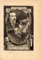 Poesia AL MEDICO CARLO GHINOZZI Di GIUSEPPE GIUSTI Con 1 FOTOINCISIONE ORIGINALE 1847 - OTTIMO STATO - Poesie