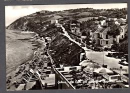 1960 GABICCE MARE PANORAMA FG V SEE 2 SCANS ANIMATA - Altre Città