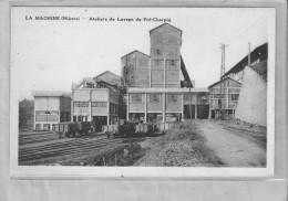 LA Machine (nievre)-Atelierq De Lavage Du Pré Charpin - La Machine