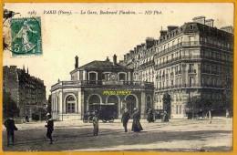 7516/154 Paris Boulevard Flandrin La Gare, Ecrite**** - Arrondissement: 16