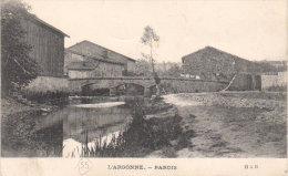 """1915  Parois    """" L'Argonne """" ( Vers Volonne ) - Clermont En Argonne"""
