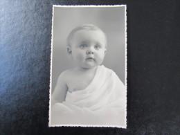 Cpa/pk Assche Asse Studio Billet Baby Child Enfant - Asse