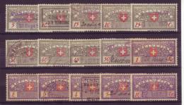 858 - Fiskalmarken Der Eidgenossenschaft - Steuermarken