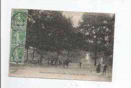 ORADOUR SUR VAYRES  CHAMP DE FOIRE (JEUNE CAVALIER ET ANIMATION) 1920 - Oradour Sur Vayres