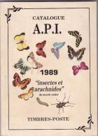 Timbres Poste Insectes Et Arachnides - 186 Pages - Temas