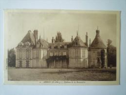 ARROU  (Eure-et-Loire)  :  Château De La  BRUNETIERE   1934   XXX - France