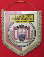 FOOTBALL / SOCCER / FUTBOL / CALCIO - RSC ANDERLECHT 1965-66, Belgium, Vintage Pennant, Wimpel - Apparel, Souvenirs & Other