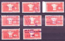 867 - Fiskalmarken Der Eidgenossenschaft - Fiscaux