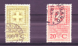 868 - Fiskalmarken Der Eidgenossenschaft - Fiscaux