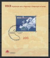 Portugal 1996 : Bloc Feuillet N° 127 Oblitération 1er Jour :  Conférence De L' O.S.C.E. à Lisbonne - Blocks & Kleinbögen