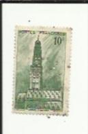 Timbre 10 Frs -Beffroi D'Arras_ G F _Perforé ( S  L )  Bon Etat 1942 - Perfins
