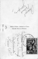 Postcard / PC / Carte De Postale / Femme / Woman / Lady / Timbre / 1955 / Liège - Belgique