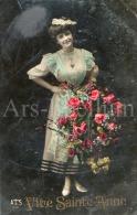 Postcard / CP / Postkaart / Femme / Woman / Lady / Ed. A & S / No 531 / 1907 - Femmes