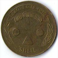 2704 Vz Apollo 13 1970 Shell - Kz Apollo 13 Lovell-Haise & Swigert - Jetons & Médailles