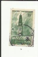 Timbre 10 Frs -Beffroi D'Arras_ G F _Perforé ( C  F )  Bon Etat 1942 - Perfins