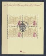 Portugal 1995 : Bloc Feuillet N° 113 Oblitération 1er Jour : 500ème Anniversaire De L´intronisation De Don Manuel 1er - Blocks & Kleinbögen