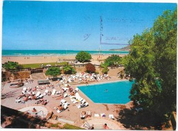 AGADIR  (cpsm Maroc ) CLUB MEDITERRANEE - Village D'agadir - Piscine - Plage - Agadir