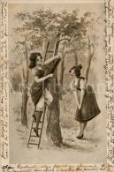 Postcard / CP / Postkaart / Femmes / Women / Ladies / Ed. H S M / Ser. I, 4 Dess. / 1905 - Illustrateurs & Photographes