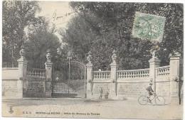 BOURG LA REINE: GRILLE DU CHATEAU DE TREVISE - Bourg La Reine