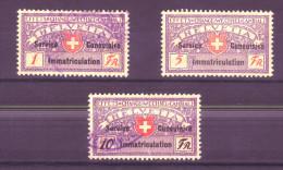 871 - Fiskalmarke Der Eidgenossenschaft - Fiscaux