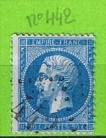 OBLIT GC N°442 LE BENY-BOCAGE - CALVADOS - 1849-1876: Periodo Classico