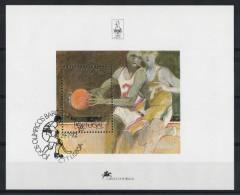 Portugal 1992 : Bloc Feuillet N° 92 Oblitération 1er Jour : Jeux Olympiques D'été à Barcelone - Blocks & Kleinbögen