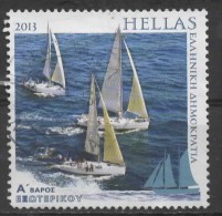 GREECE 2013 Tourism - Sailing - (A) - Sailing Boats  FU - Gebraucht