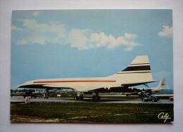 Cpsm Grand  Format -  1 968 - CONCORDE- Cliché SUD-AVIATION -  édit.CELY - 1946-....: Moderne
