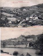 LE GUA - 2 CPA - La Mairie Et Les Ecoles - Vue Panoramique Du Bassin (85434) - France