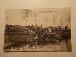 Carte Postale - VILLARD LES DOMBES (01) - Pêche De L'Etang - Animation (1314) - Villars-les-Dombes