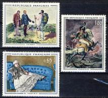 Francia 1962 Serie N. 1363-1365 Quadri Di Maestri MNH GO Catalogo € 14 - Ungebraucht