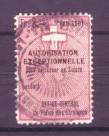 873 - Fiskalmarke Der Eidgenossenschaft - Fiscaux