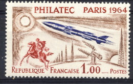 Francia 1964 N. 1422 F. 1+3 Philatec MNH GO Senza Vignetta Catalogo € 15 - Ungebraucht