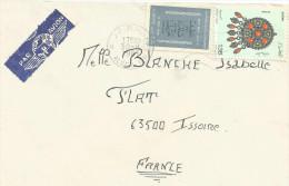 ALGERIE LETTRE DE ALGER POUR LA FRANCE 1981 - Algeria (1962-...)