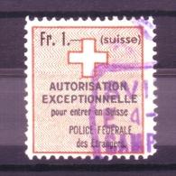 878 - Fiskalmarke Der Eidgenossenschaft - Fiscaux