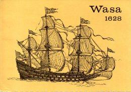 SUEDE. Carte Postale Ayant Circulé En 1976. Wasa 1628. - Voiliers
