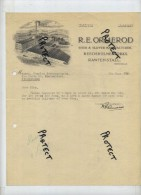 R.E. ORMEROD :  Shoe & Slipper Manufacturer  1939  (  To Willebroek See Scan For Detail ) - Royaume-Uni