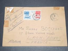 ST PIERRE ET MIQUELON - Env Prévue Par Avion Envoyée Par Bâteau Pour Affr Insuffisant - Nov 1967 - A Voir - P17225 - St.Pierre Et Miquelon