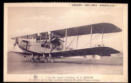 Sabena - Air Lines - Bruxelles - Fac-similé. - Avions
